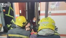 台鐵工安意外!年輕調車工遭車廂夾住慘死