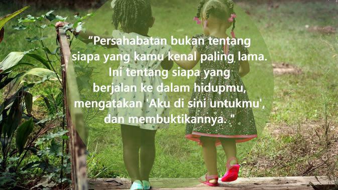 Kata-kata inspirasi hidup tentang persahabatan (sumber: Pixabay)