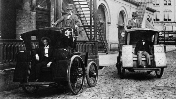 May 20: Electric taxi driver gets first U.S. speeding ticket on this date in 1899