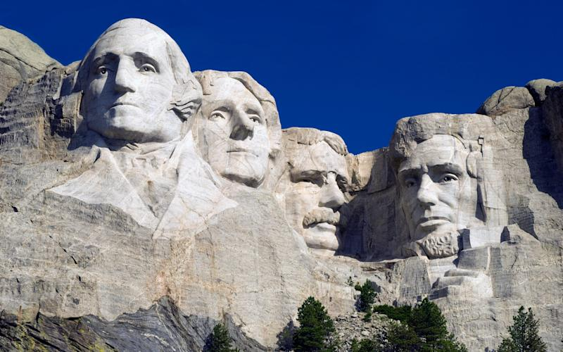 Mount Rushmore is built on a site sacred to Native Americans - Lloyd Sutton / Alamy Stock Photo