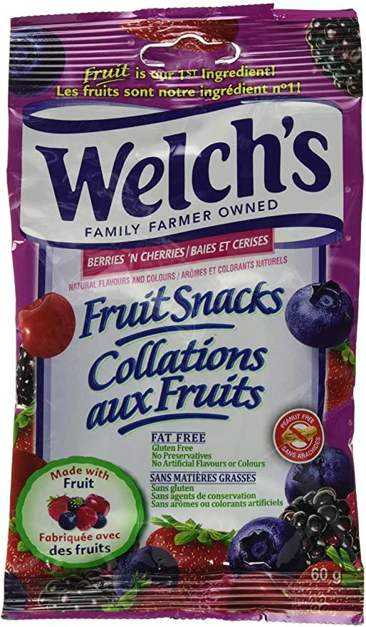 WELCH'S Berries 'N Cherries. Image via Amazon.