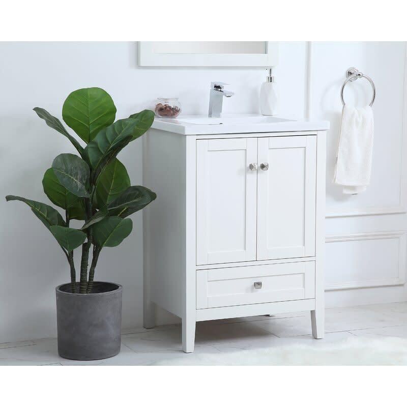 "Modena 24"" Single Bathroom Vanity Set. Image via Wayfair."
