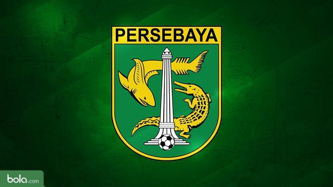 Logo Persebaya Surabaya. (Bola.com/Dody Iryawan)