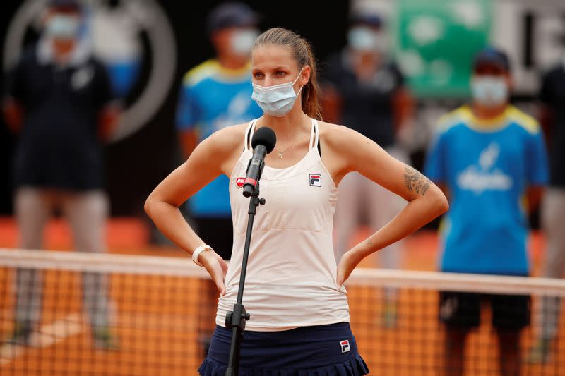 Second seed Pliskova hoping to be fully fit before opening match