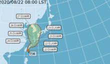 快訊/8號颱風「巴威」生成! 氣象局10點30分發海警