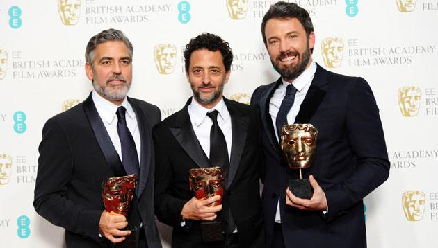 Ben Affleck and 'Argo' look unbeatable with triple win at the BAFTA's
