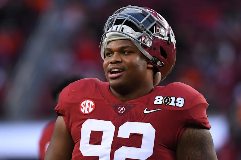 b0029407 4 Alabama players declare for 2019 NFL draft