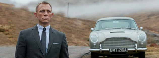 James Bond fan ties car detail from 'Skyfall' back to '60s-era Bond