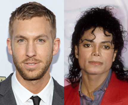 Calvin Harris Breaks Michael Jackson's Chart Record in the UK