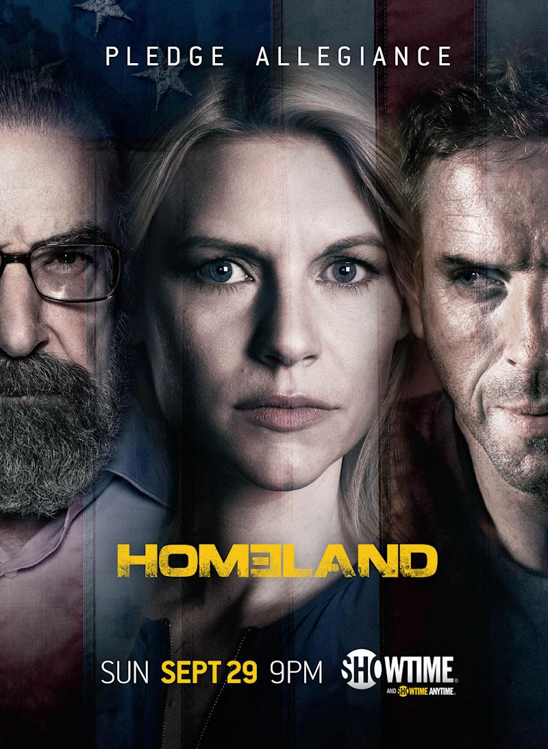 'Homeland' Season 3 Posters Revealed: Who Will Carrie 'Pledge Allegiance' To?