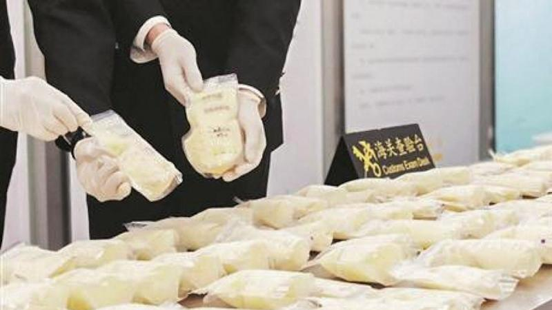 Chinese customs seizes 23kg of frozen breast milk from woman returning from Singapore