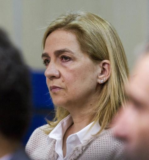 Princess Cristina was the first member of Spain's royal family to face criminal charges since the monarchy was restored in 1975
