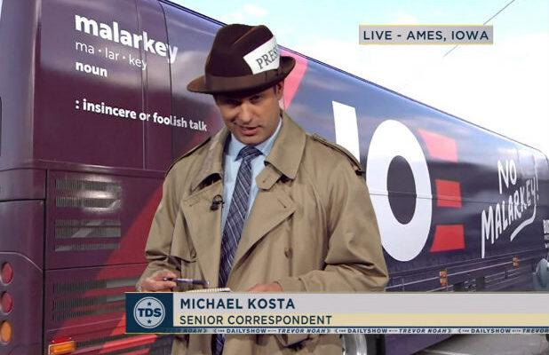 'The Daily Show' Dives Into Joe Biden's Weird Old-Timey 'No Malarkey' Campaign Slogan (Video)