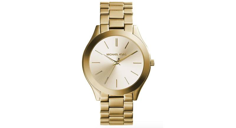Michael Kors Women's Analog Quartz Watch with Stainless Steel Strap MK3197