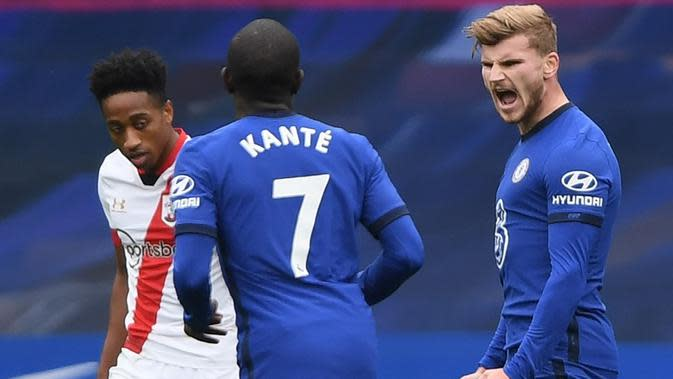 Chelsea Vs Southampton(AFP/Mike Hewitt)