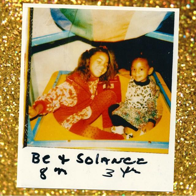 Beyonce Celebrates Solange's 29th Birthday With Adorable Childhood Photo