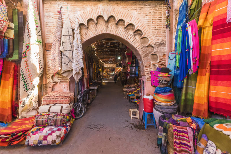 Marrakesh in Morocco [Photo: Getty Images]