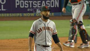 叫Wade的都很會飛!LaMonte Wade Jr.抓準起跳時機沒收道奇可能的長打【MLB球星精華】20211013