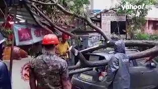 印度疫情未歇又遇天災 強烈氣旋直撲至少12死