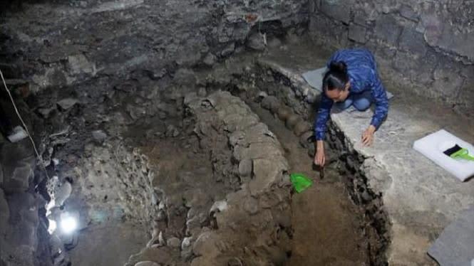 Geger Ditemukan Situs Istana Kuno di Pusat Bisnis Ibu Kota