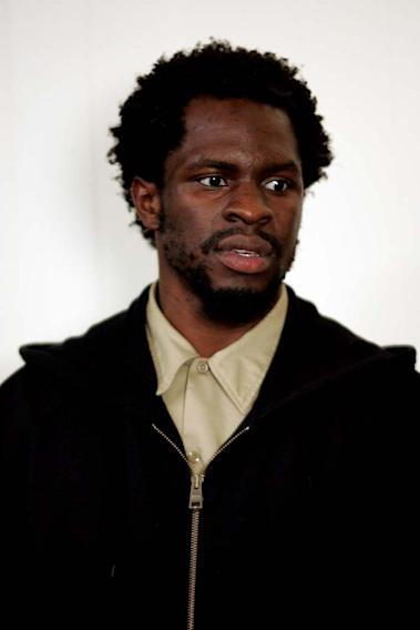Gbenga Akinnagbe in The Wire.