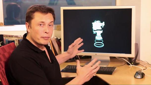 "Elon Musk shows off ""Iron Man"" system that uses hand gestures to build rockets"