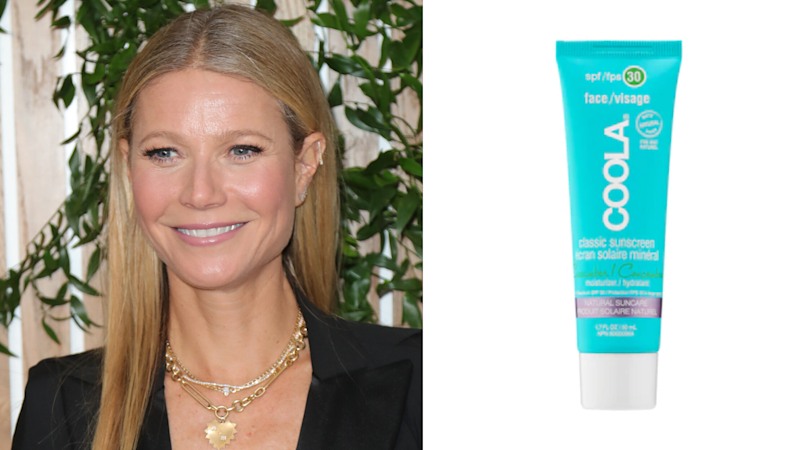 Classic Face Organic Sunscreen Lotion SPF 30 Cucumber. Images via Getty, Ulta.