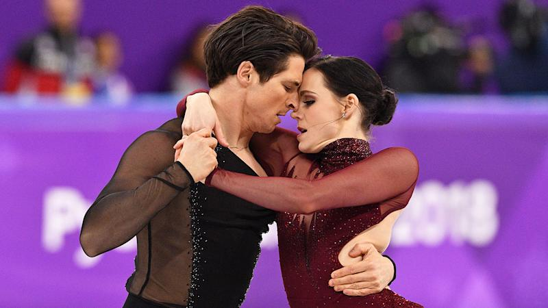 Fans have been paying tribute to Scott Moir and Tessa Virtue after the Canadian pair announced their retirement.