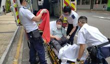 土瓜灣地盤飛墮石屎擊中私家車 男乘客受驚送院