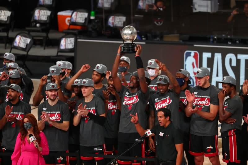 Heat take down Celtics, move on to NBA Finals