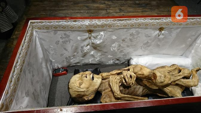 Mumi asli dari Indonesia di Pekan Kebudayaan Nasional 2019. (Liputan6.com/Dinny Mutiah)