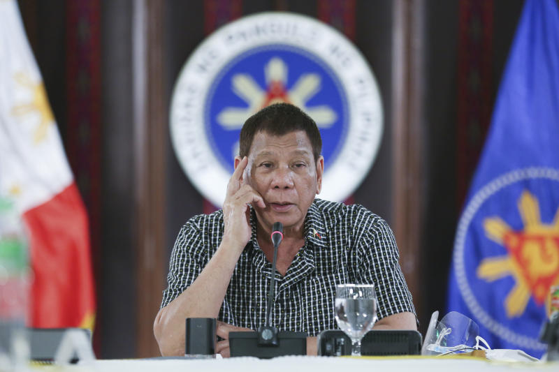 Philippines Duterte Congress Row