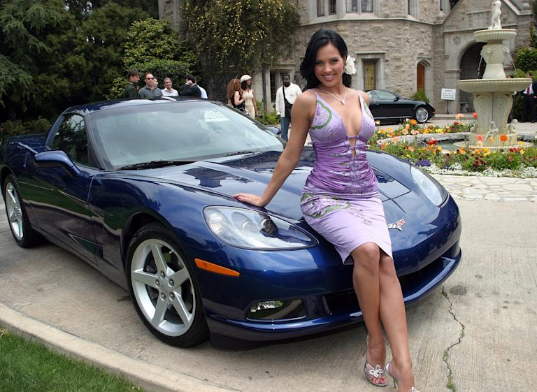 2005 Corvette and Playmate