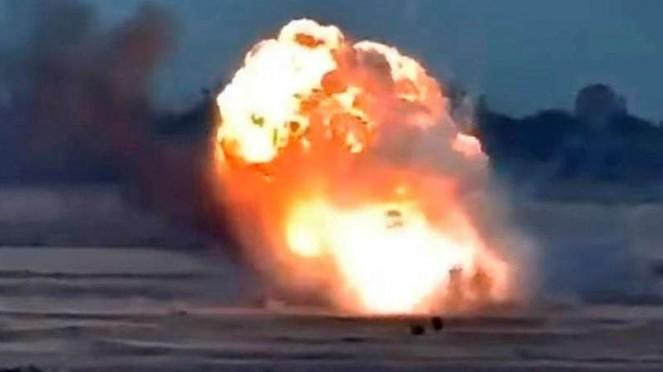 VIVA Militer: Ledakan dahsyat terjadi dalam perang Aremnia-Azerbaijan