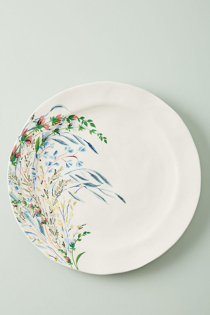 Printemps Dinner Plates, Set of 4. Image via Anthropologie,