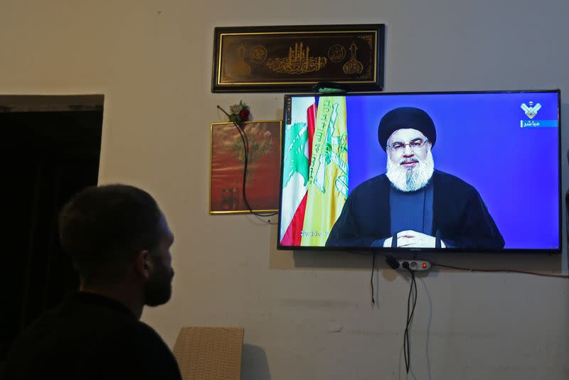 Hezbollah chief tells France's Macron can't act like Lebanon's ruler