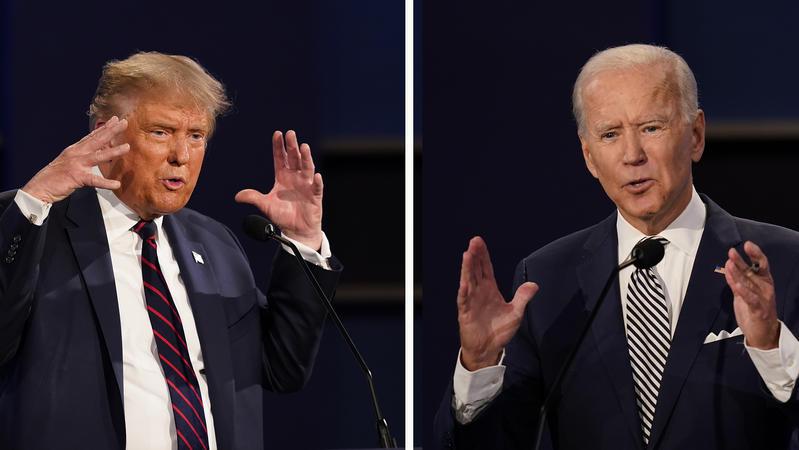 川普、拜登,你比較希望誰當選?