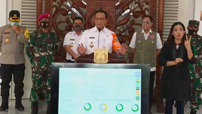 Anies Klaim Tes Pelacakan Covid-19 di Jakarta Melebihi Target WHO