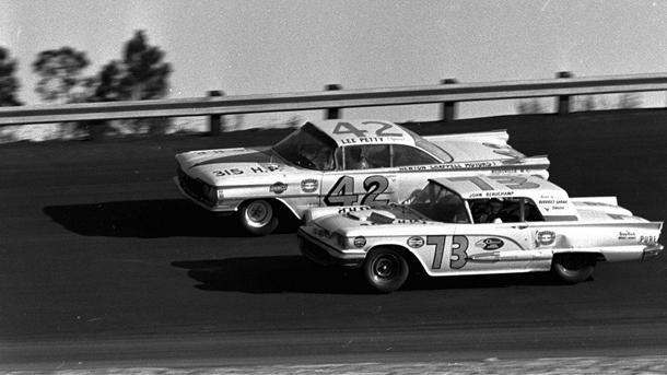 February 22: Lee Petty wins the first Daytona 500 on this date in 1959
