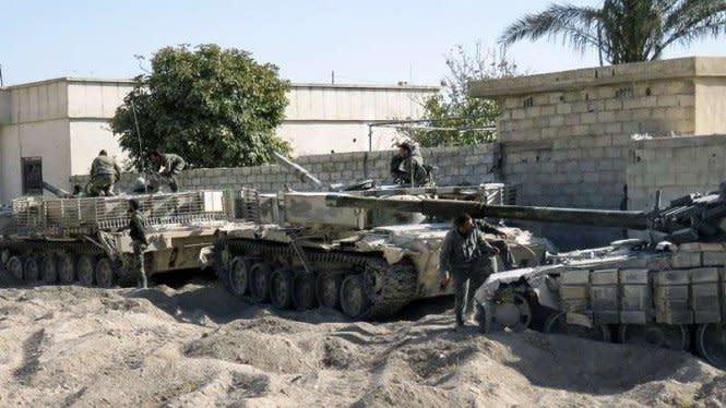 Konvoi Kendaraan Militer Turki Diserang di Idlib Suriah