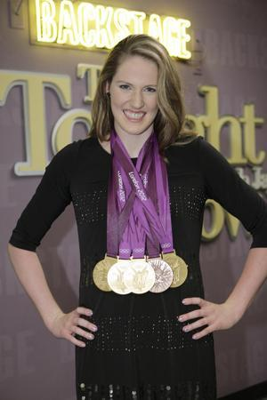 Olympic Darling Missy Franklin Receives Care Package From Justin Bieber