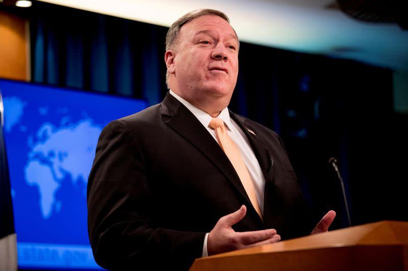 U.S. could rethink Iran sanctions in light of coronavirus - Pompeo