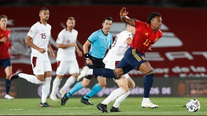Hasil Lengkap UEFA Nations League: Spanyol dan Jerman Menang Tipis