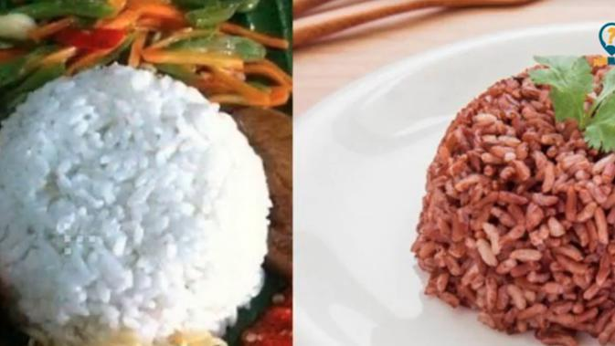 Cara Menurunkan Berat Badan, Pilih Nasi Merah Atau Nasi Putih?