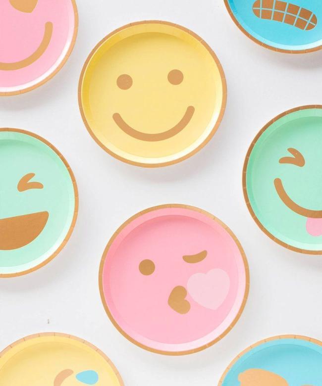 Emoji Plates