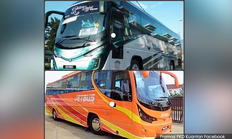 Express bus passengers urged to come forward after one is Covid-19 positive