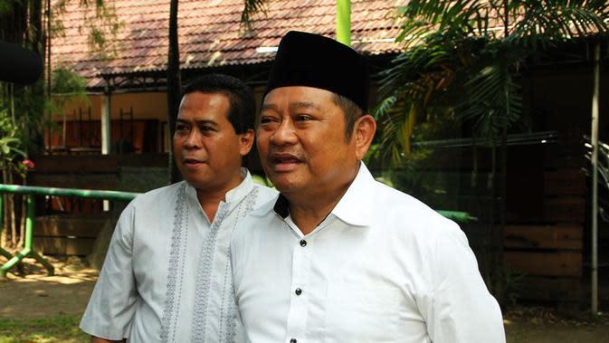 Bupati Sidoarjo Saiful Ilah bakal mengatasi permasalahan sampah dengan mengubah menjadi energi listrik. (Liputan6.com/Dian Kurniawan)