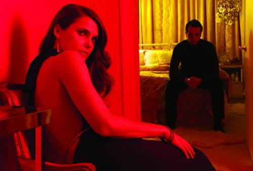 Keri Russell as Elizabeth Jennings, Matthew Rhys as Philip Jennings in FX's 'The Americans' -- FX