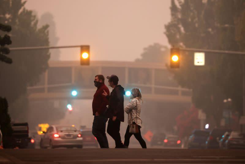 Police debunk social media misinformation linking Oregon wildfires to activists