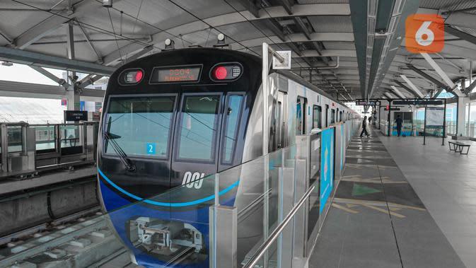 Mulai 3 Agustus, MRT Jakarta Beroperasi hingga Pukul 22.00 WIB